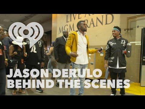 Jason Derulo Backstage Warmup @ iHeartRadio Music Festival