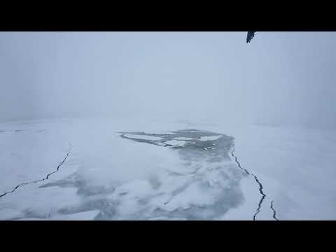 Breaking ice 2 ! 360 view of Ortelius in the ice
