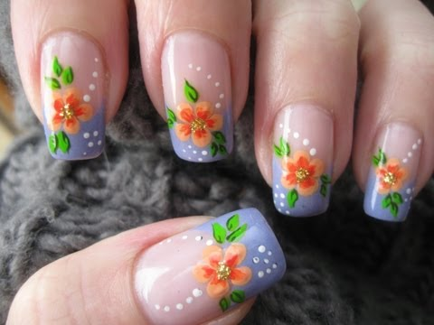 manicure flores - Before asking any questions read below** - - Hi there! I'm fed up with the winter! I want SPRING! I can't wait for better weather, the sun, being outside a...