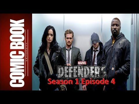 Review - Defenders Season 1 Episode 4    COMIC BOOK UNIVERSITY
