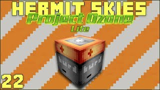 Hermit Skies 22 The Battery Room! (Project Ozone Lite Skyblock Modded Minecraft)