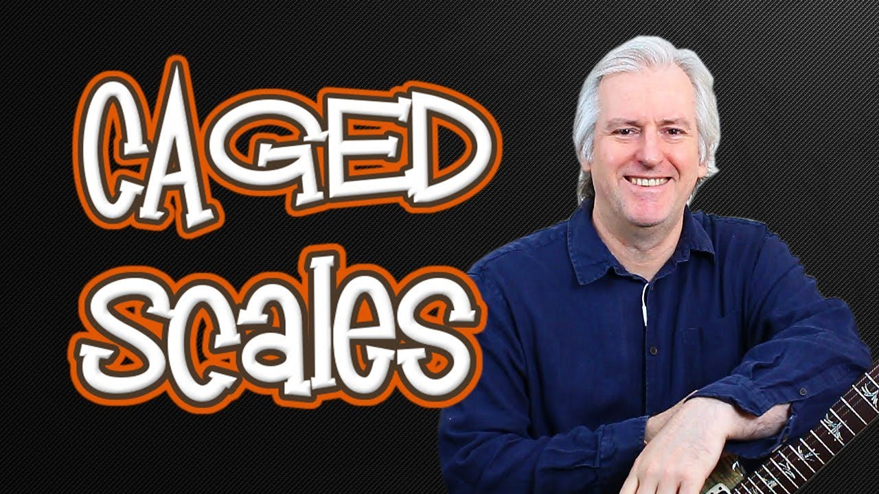 CAGED Scales – Playing through all 5 positions on the guitar neck.