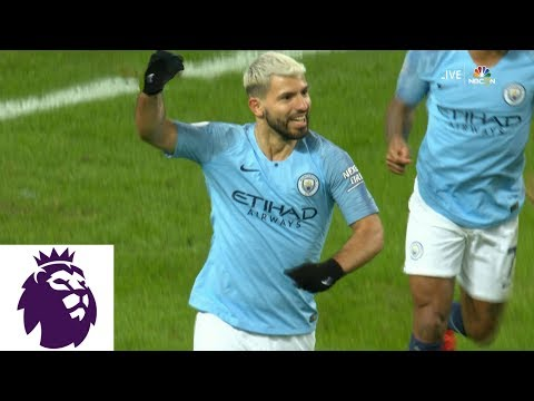 Video: Sergio Aguero completes hat trick, puts Man City up 3-1 v. Arsenal | Premier League | NBC Sports
