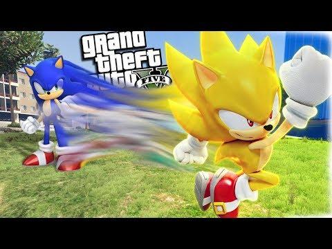 The Ultimate SUPER SONIC Hedgehog (GTA 5 Mods)