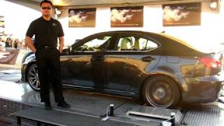 2009 Lexus IS-F Dyno Test Drive