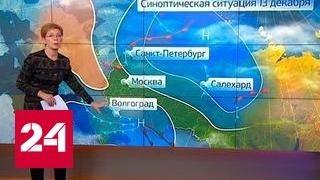 В Европейскую Россию вернулись морозы