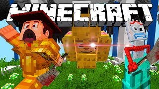 TOY STORY ADVENTURES | GINGERBREAD WANTS TO KILL FORKY | MINECRAFT XBOX