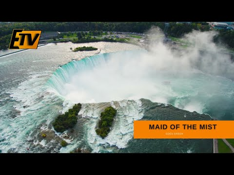 Maid of the Mist is 'Going Green' thanks to new Electric Boats wired by NECA/IBEW Team