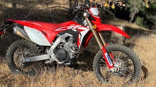 8. 2019 Honda 450L - Dirt Bike Magazine