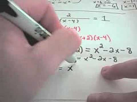 rational - Solving Rational Equations! 3 examples are shown. For more free math videos, visit http://PatrickJMT.com! Austin Math Tutor, Austin Math Tutoring, Austin Alg...