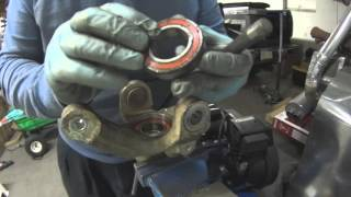 9. Yamaha Kodiak & Grizzly front bearing replacement