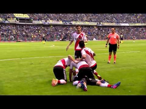 Superclásico - Gol de Pity Martínez