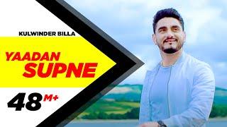Video Yaadan Supne | Full Video | Kulwinder Billa | Dr Zeus | Latest Punjabi Song 2017 | Speed Records MP3, 3GP, MP4, WEBM, AVI, FLV Januari 2019
