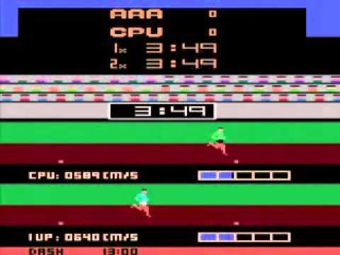 Track & Field Atari