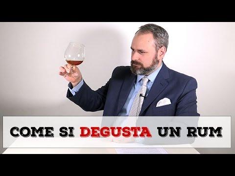 Come si degusta il Rum?