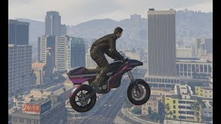 I don't even know what GTA has become lately, but I like it.Skip to 4:24 for Flying