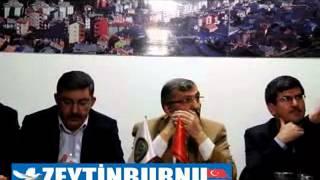 Başkan Murat Aydın Konya Bozkır Derneğinde Yapmış Olduğu ve Yapacağı Hizmetleri Anlattı