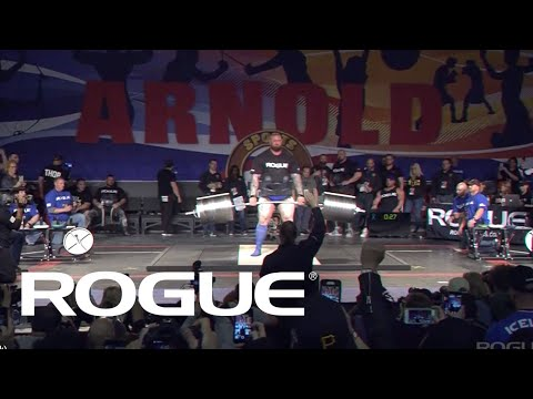 2019 Arnold Strongman Classic | Rogue Elephant Bar Deadlift - Full Live Stream Event 1