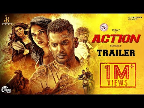 Action Tamil movie Official Trailer