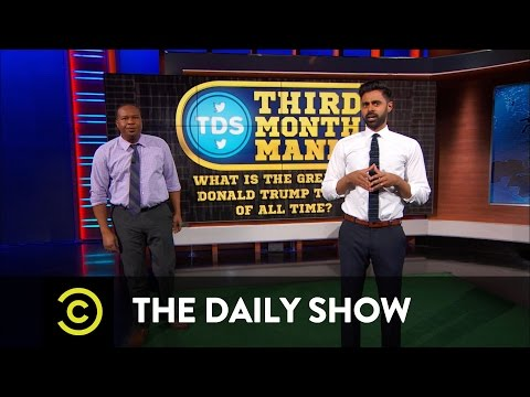 'The Daily Show' launches a tournament to determine Trump's 'greatest' tweet