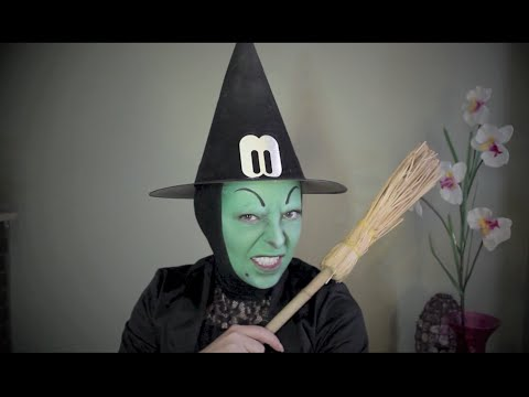 Maquillage Sorcière d'Oz pour Halloween/ Sorcière verte