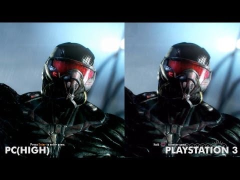 Graphics - Want to see which version of Crysis 3 has the best rain drops? We do a graphics comparison video with PlayStation 3, Xbox 360 and PC versions of the game! Fo...