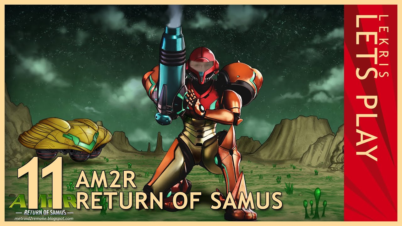 Let's Play AM2R - Return of Samus 1.0 Full Version #11 - Robot Factory - Spider Control