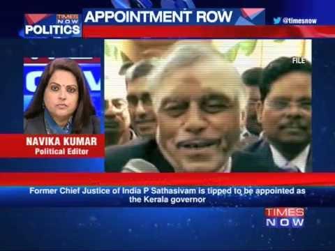 Ex-CJI P Sathasivam  next Kerala Governor? 01 September 2014 11 PM