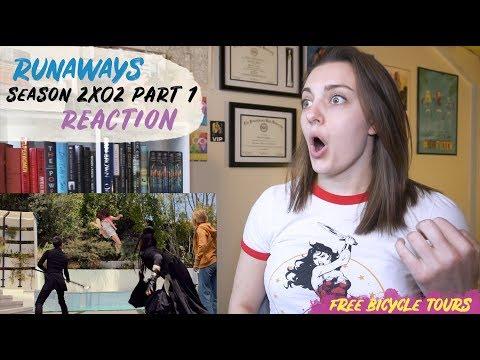 """Marvel's Runaways Season 2 Episode 2 """"Radio On"""" REACTION Part 1"""