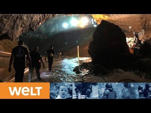 THAILAND: Alle Jungen und ihr Trainer aus Höhle ger ...