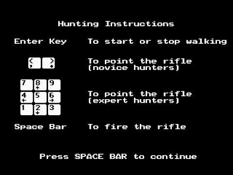 what you hunt in oregon trail