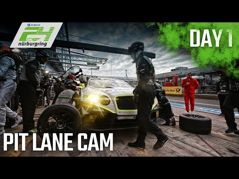 Pit Lane Day 1 Re-Live | ADAC Zurich 24h-Race 2018 at the Nürburgring | Day 1