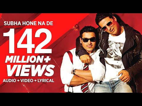 Na - Song: Subha Hone Na De Movie: Desi Boyz Singer: Mika Singh, Shefali Alvaris Music Director: Pritam Music Label: T-Series Listen to the happening party song f...