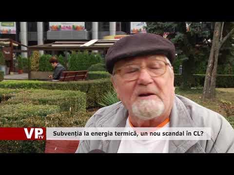 Subvenția la energia termică, un nou scandal în CL?