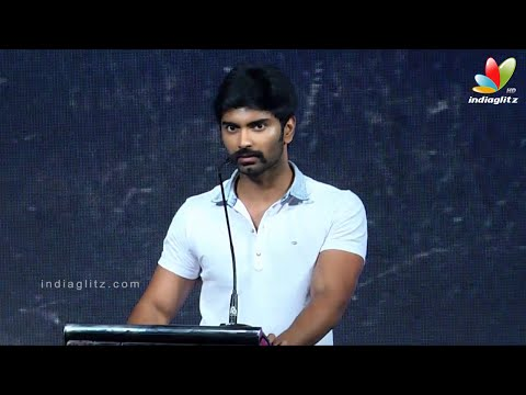 Bala s Excitement about the Script Made Me Do Sandi Veeran- Atharva | Audio Launch
