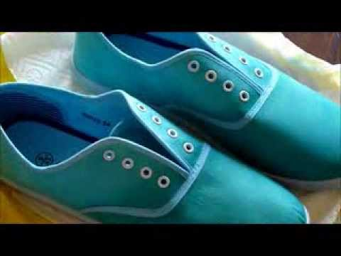 Dyeing Shoes DIY