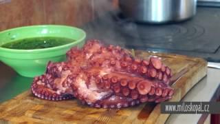U Mildy v kuchyni: Salát z chobotnice