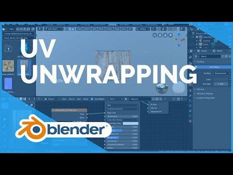 UV Unwrapping - Blender 2.80 Fundamentals