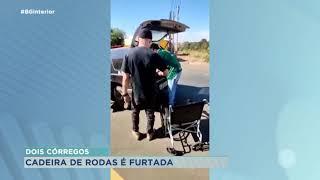 Dois Córregos: polícia recupera cadeira de rodas furtada de posto de saúde