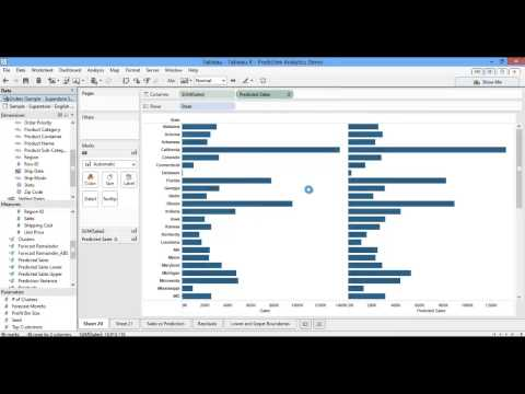 Tableau 8.1: Predictive Analytics with R