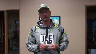Ice Team Pro Kevan Paul talks about a new species that's being targeted on Clear Lake in Iowa, the Yellow Bass.