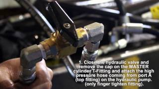 9. How To Bleed The Air Out of The Hydraulic System on a Load Trail Gravity Tilt Deck Trailer