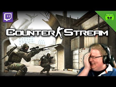 COUNTERSTRIKE STREAM # 1 - Counter-Stream «»  Let's Play CS:GO | Live-Mitschnitt