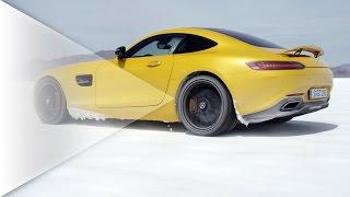 2015 Mercedes-AMG GT - High speed on salt flat