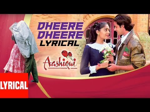 Download Dheere Dhheere Se Meri Zindagi Mein Aana Lyrical Video || Aashiqui || Kumar Sanu, Anuradha Paudwal HD Mp4 3GP Video and MP3