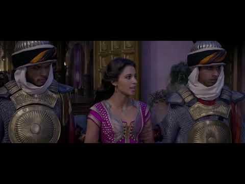 Aladdin - Speechless Scene complete  (Naomi Scott)