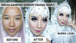 Video NIKAH DANDAN SENDIRI?! - Tutorial Makeup Pengantin Hijab Modern (Barbie Look)   Mutiara Mulfar MUA MP3, 3GP, MP4, WEBM, AVI, FLV Oktober 2018