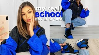 Video MY REAL SCHOOL DAY IN MY LIFE VLOG + what i normally wear MP3, 3GP, MP4, WEBM, AVI, FLV Desember 2018