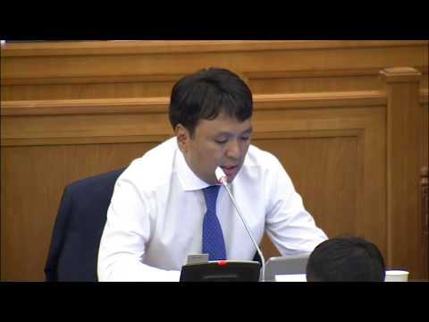 Т.Доржханд: Монгол Улс ШХАБ-т элсэх тал дээр Гадаад хэргийн сайд байр сууриа илэрхийлнэ үү?