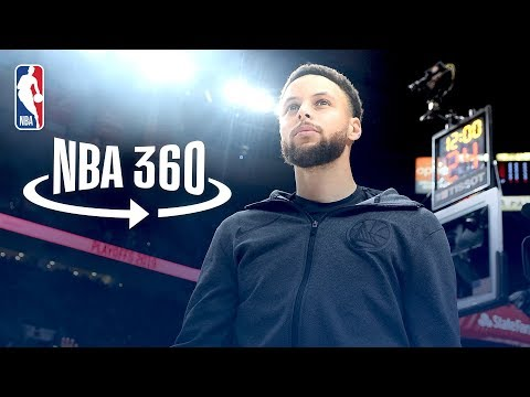 NBA 360: Stephen Curry's Game Day Rituals